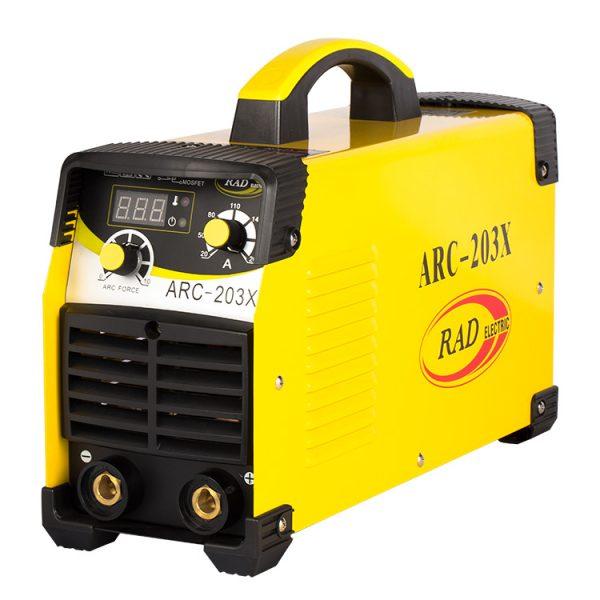 دستگاه جوش تکفاز 220 آمپر راد الکتریک مدل ARC203X