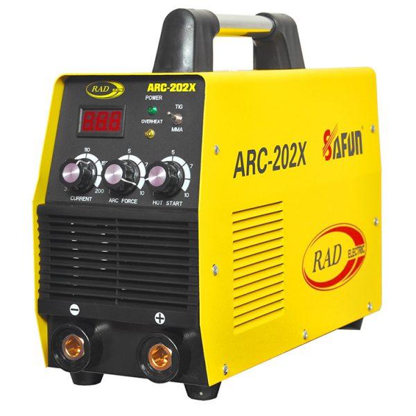 دستگاه جوش 200 آمپر تکفاز رادالکتریک